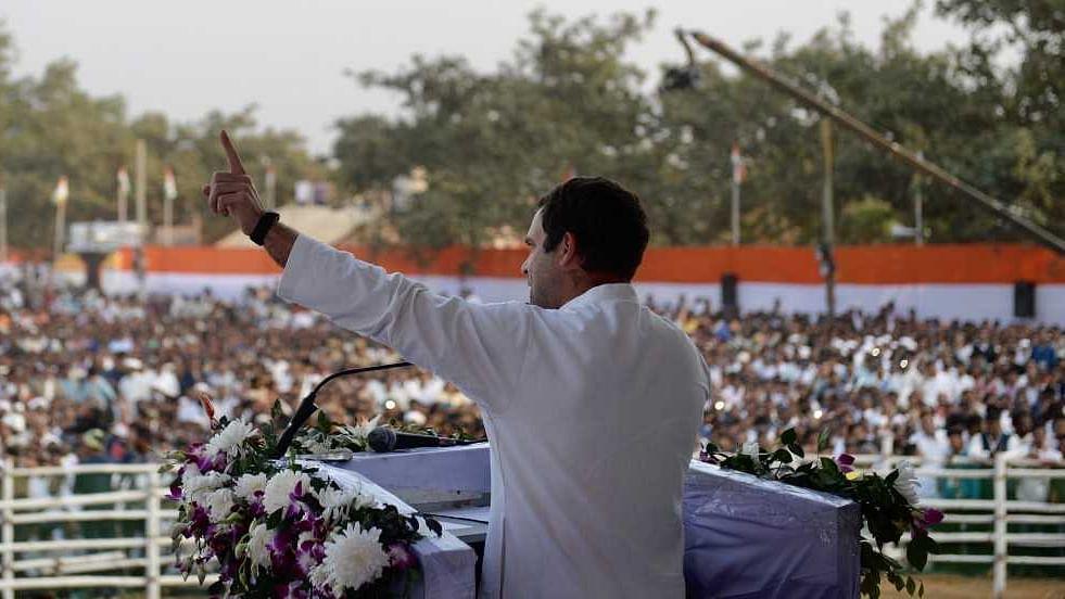 "Odisha: Rahul says Patnaik being ""remote-controlled"" by Modi; offers farm loan waivers"
