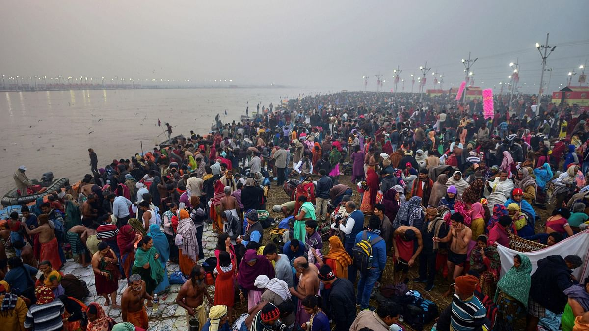 Watch pics and videos of the Kumbh  on Twitter: the world's largest peaceful gathering over the next 50 days