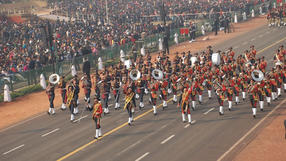 Ahead of Republic day celebrations security stepped up in National Capital; nearly 400 CISF personnel deployed
