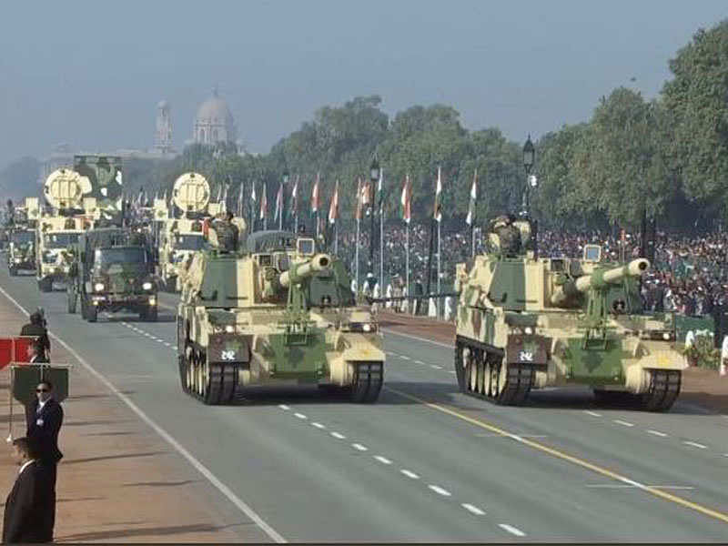 Rising women power, splendid display of military might, glimpses from Gandhi's life mark Republic Day parade