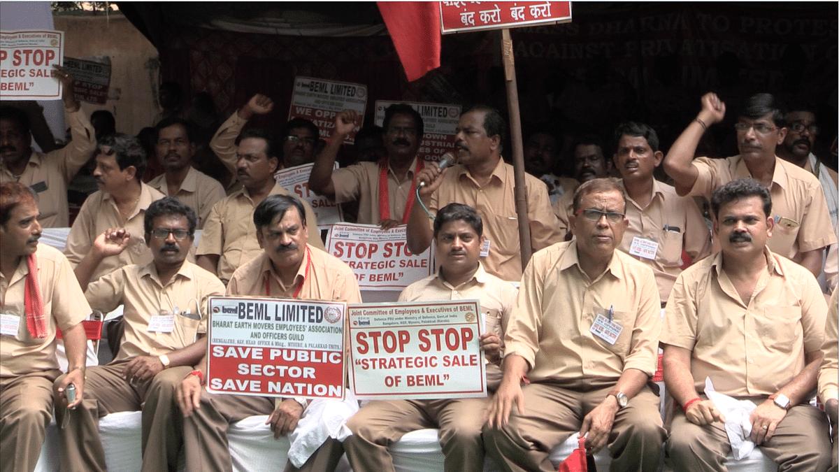 Backlash against Modi Government: Strike next week against privatisation of defence production