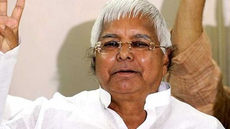 RJD Chief Lalu Yadav uses Urdu verse to convey he has not lost nerve despite failing health