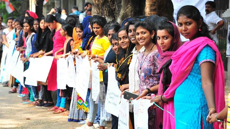 Sabarimala row: Lakhs of women to form 'Women's wall' in Kerala to uphold gender equality