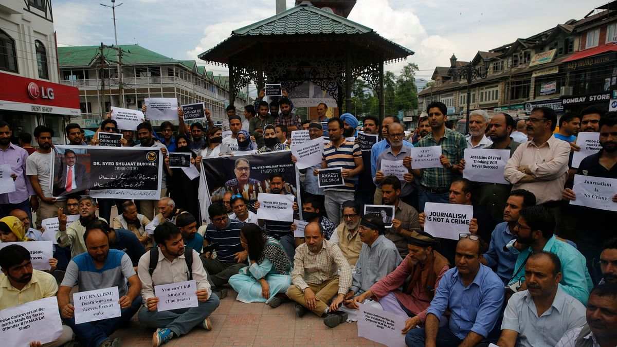 2018 was a harrowing year for journalists in Kashmir
