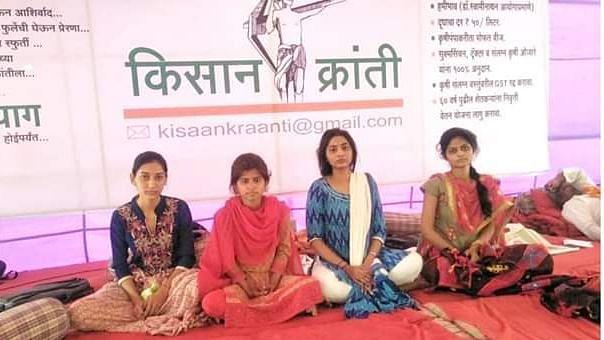 Maharashtra: Police force farmers' daughters to break hunger strike, angry village observes shutdown