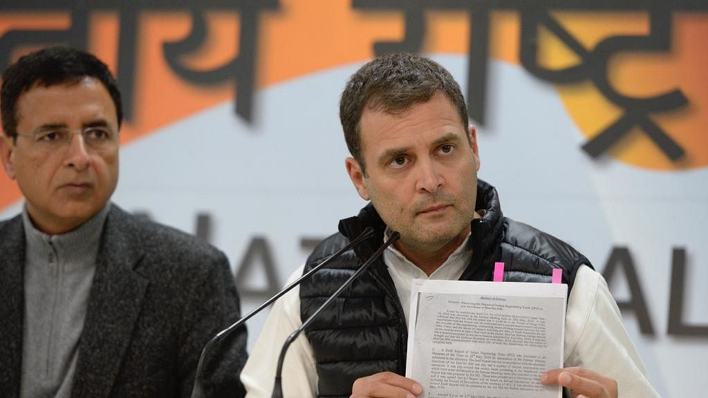 Rafale deal: Dissent note demolishes Modi govt's arguments, says Rahul Gandhi, rubbishes CAG report