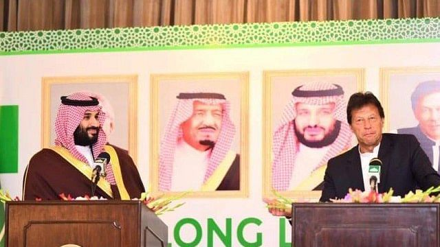 """Want to """"de-escalate tensions"""" between Pak and India, says Saudi foreign minister accompanying Salman"""