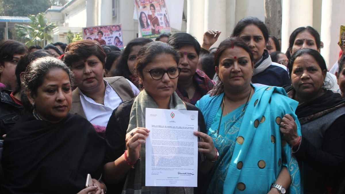 Angry Mahila Congress workers lodge FIR in New Delhi over misogynist remarks against Priyanka Gandhi