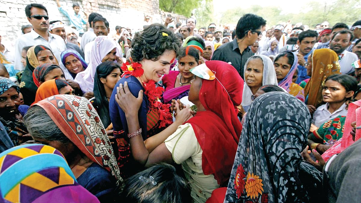 Priyanka Gandhi set to storm eastern UP