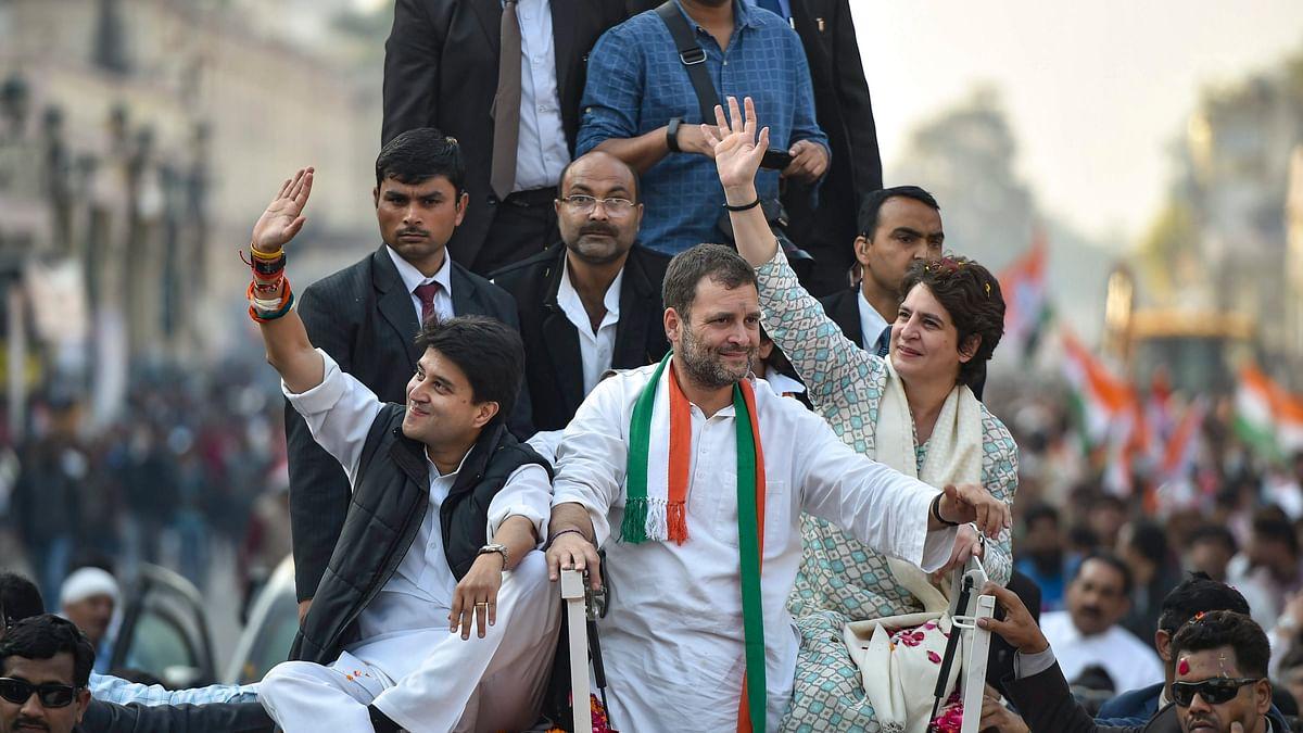 Rahul puts 41 seats in UP under Priyanka, 39 under Scindia