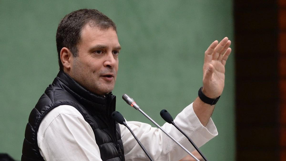 Rahul Gandhi: We are defeating BJP in ideological fight
