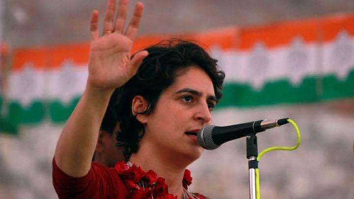 Priyanka Gandhi  condoles Kashmir terror attack, cancels Lucknow media conference
