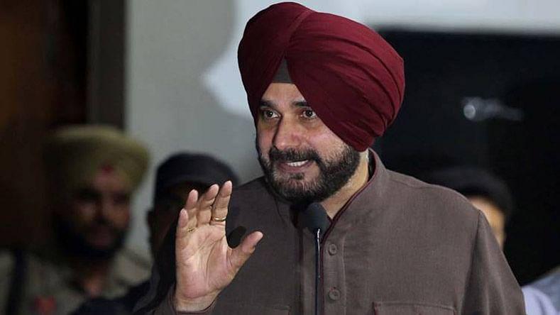 Punjab minister Navjot Singh Sidhu (PTI)