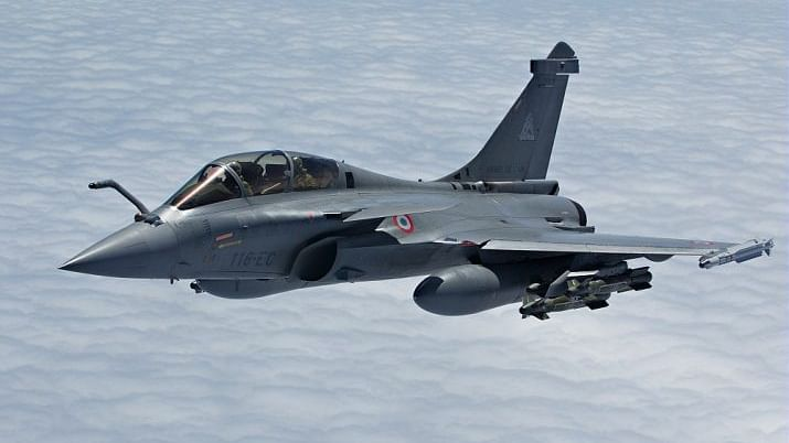 Defence Minister Rajnath Singh receives first Rafale jet in France