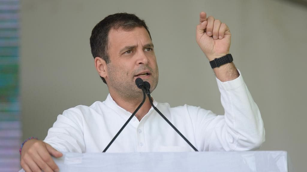 Rahul Gandhi: Modi promised loan waiver to farmers, but wrote off bank dues of industrialist-friends