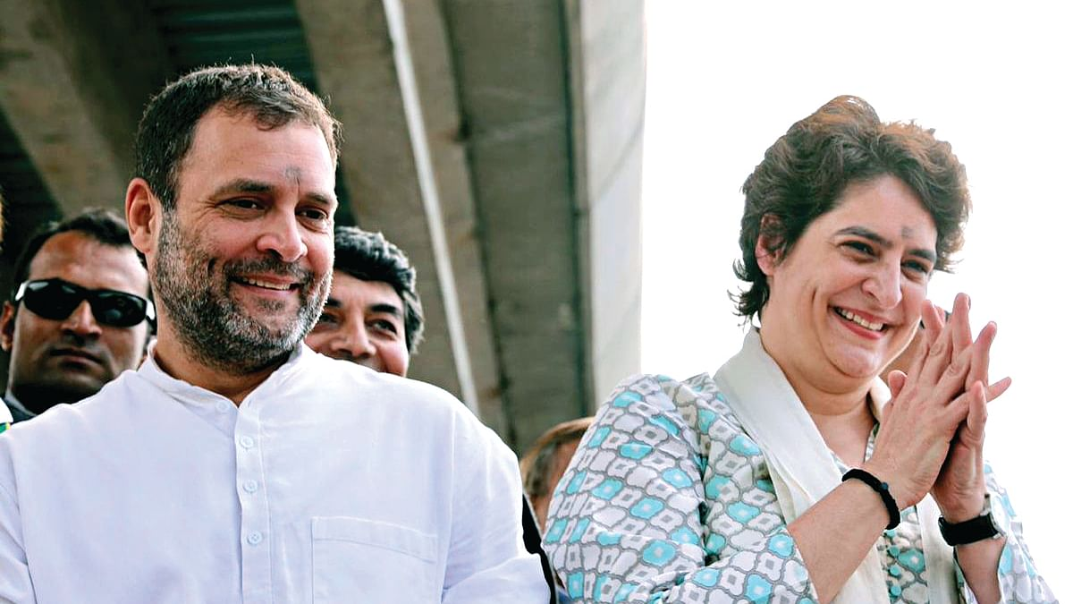 Priyanka Gandhi's entry into UP politics has sent political opponents into tizzy