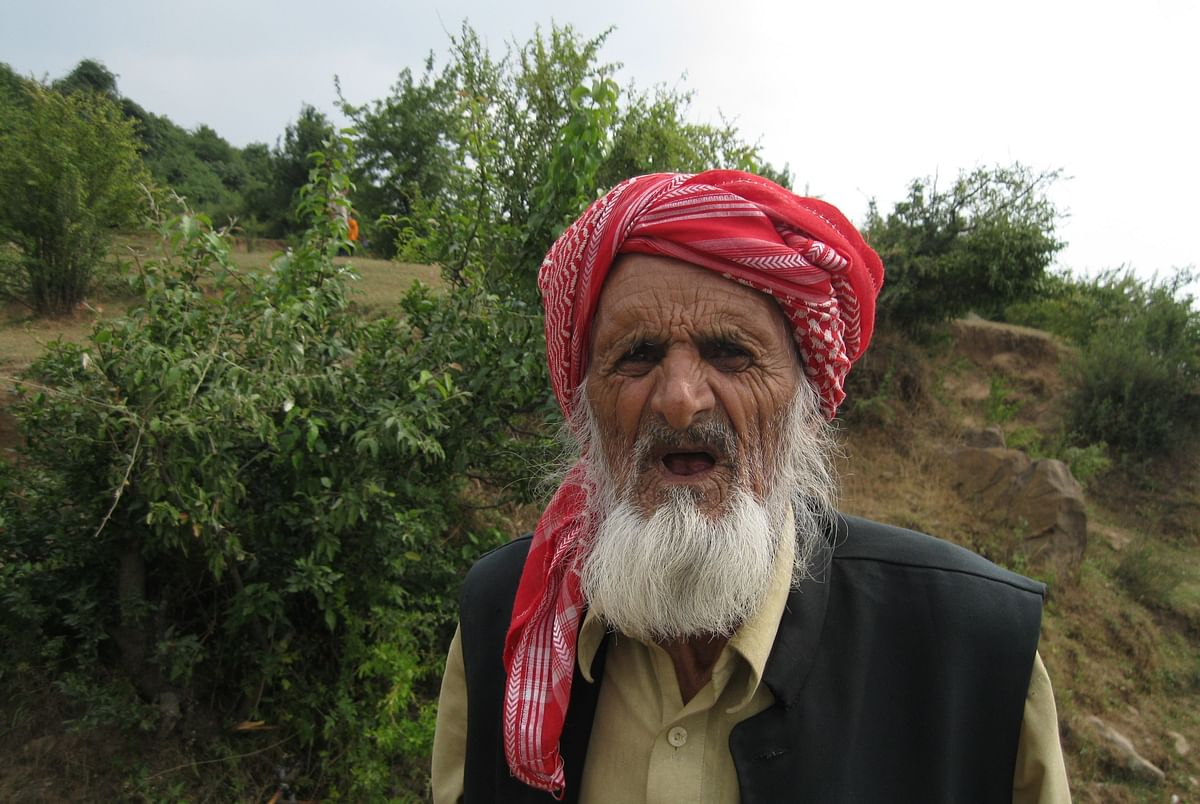 A resident of Balakote sector.