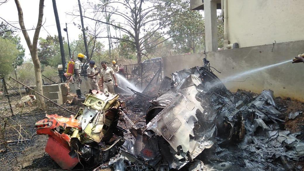 Ahead of Aero India 2019, two Suryakiran aircraft crash in Bengaluru, One pilot killed