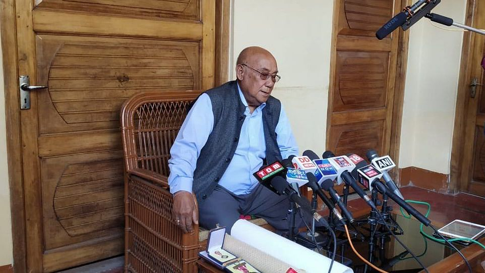 Veteran Manipuri filmmaker Aribam Syam Sharma to return Padma Shri in protest against Citizenship Bill