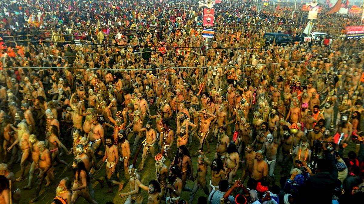 Millions take bath on second Shahi snan in Kumbh on Mauni Amavasya; thousands take deeksha as Naga Sadhus