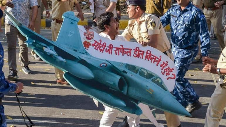 Prime Minister has now no escape route from Rafale scam