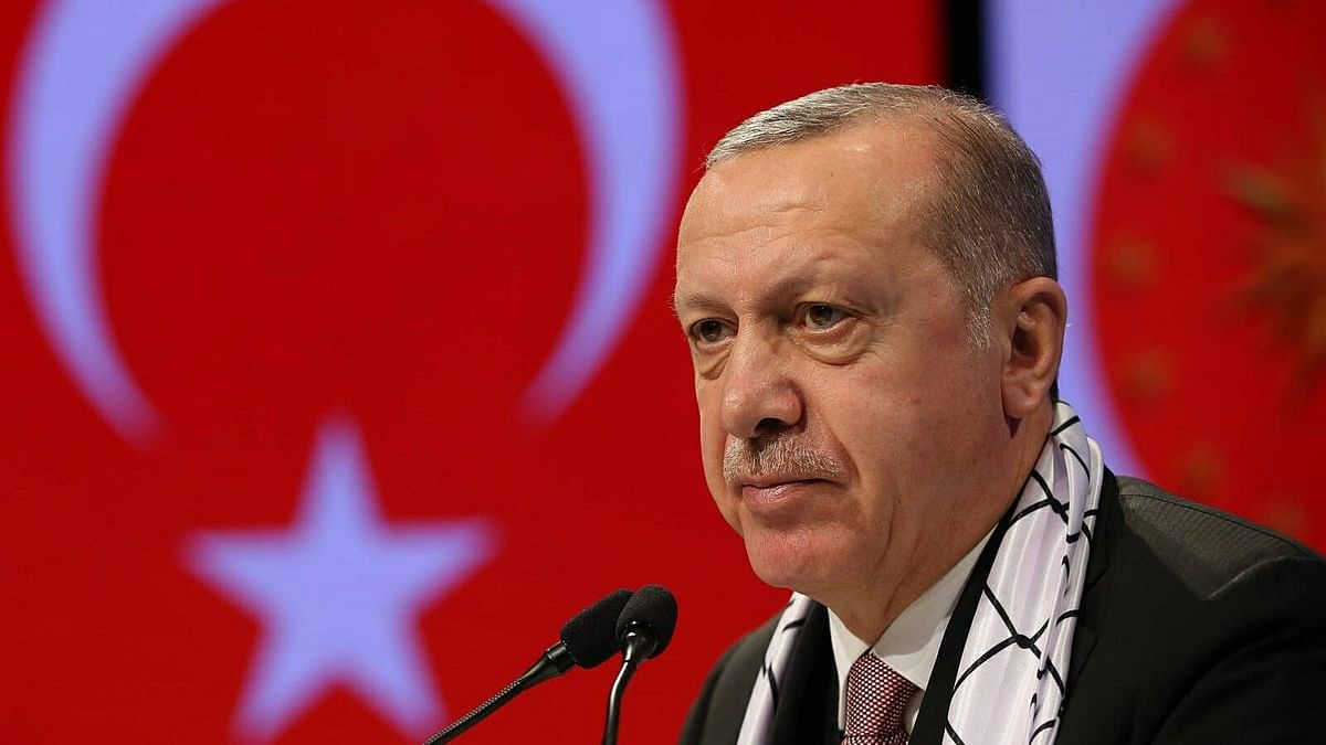 Turkish President Erdogan urges fight on Islamophobia 'like anti-Semitism after Holocaust'