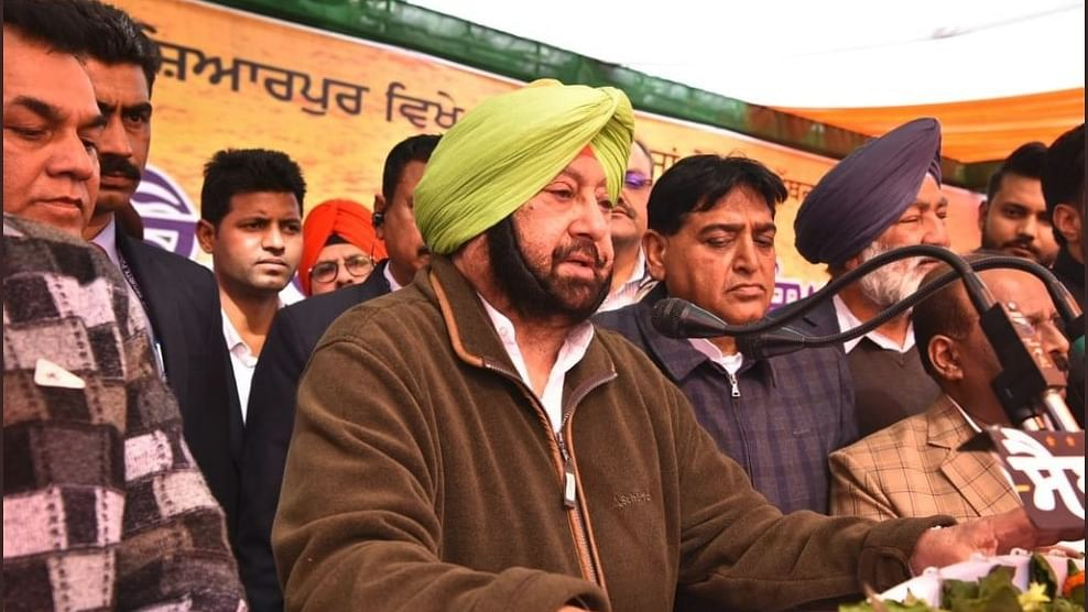 Punjab CM Amarinder Singh lays foundation stones for four water supply projects in Amritsar