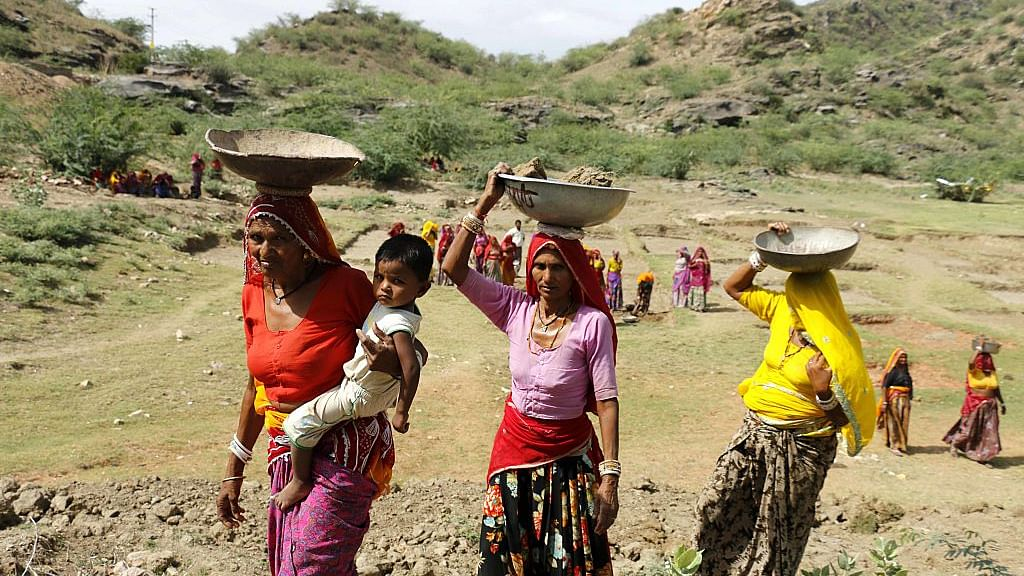 NREGA workers demand increase in wages in line with the Minimum Wages Act
