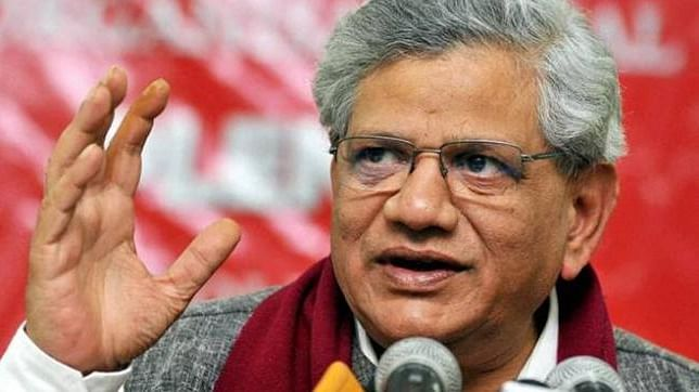 Sitaram Yechury flays Modi, Shah for calling oppositions 'traitors'