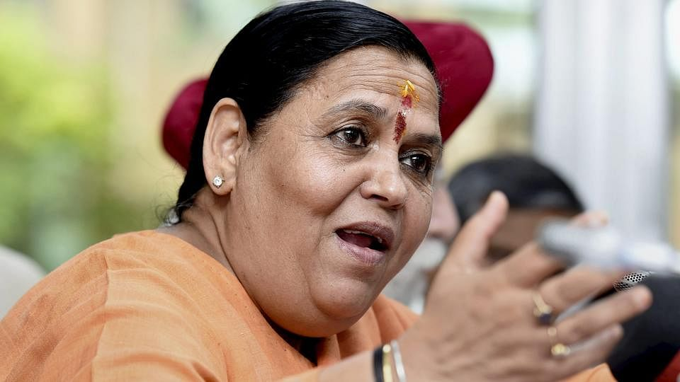 Uma Bharti stays out of Lok Sabha polls, appointed BJP vice president