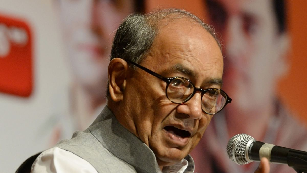 Ex-MP, former Madhya Pradesh CM Digvijaya Singh files papers for Bhopal LS seat