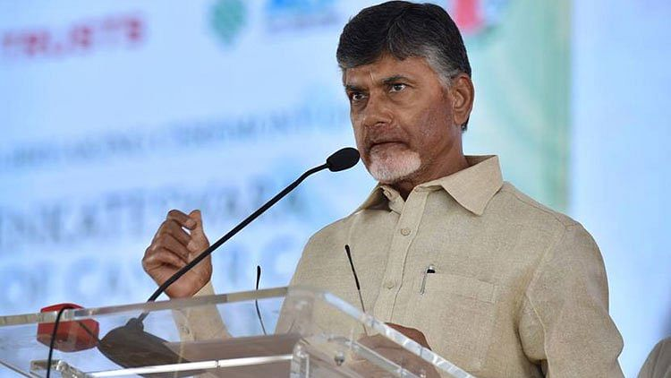 Chandrababu Naidu accuses Telangana government of stealing data under a conspiracy