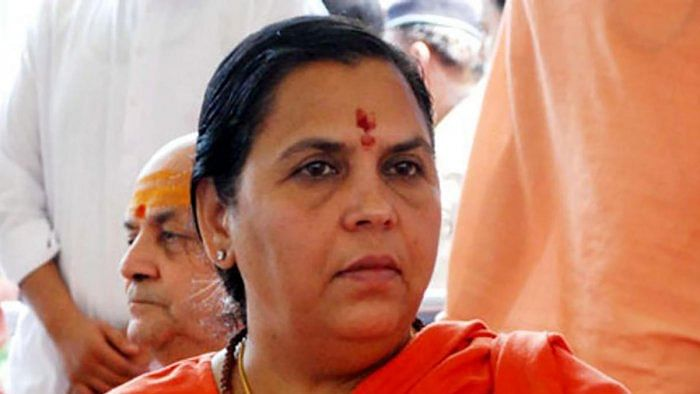 Uma Bharti opts out of 'bhumi pujan' ceremony