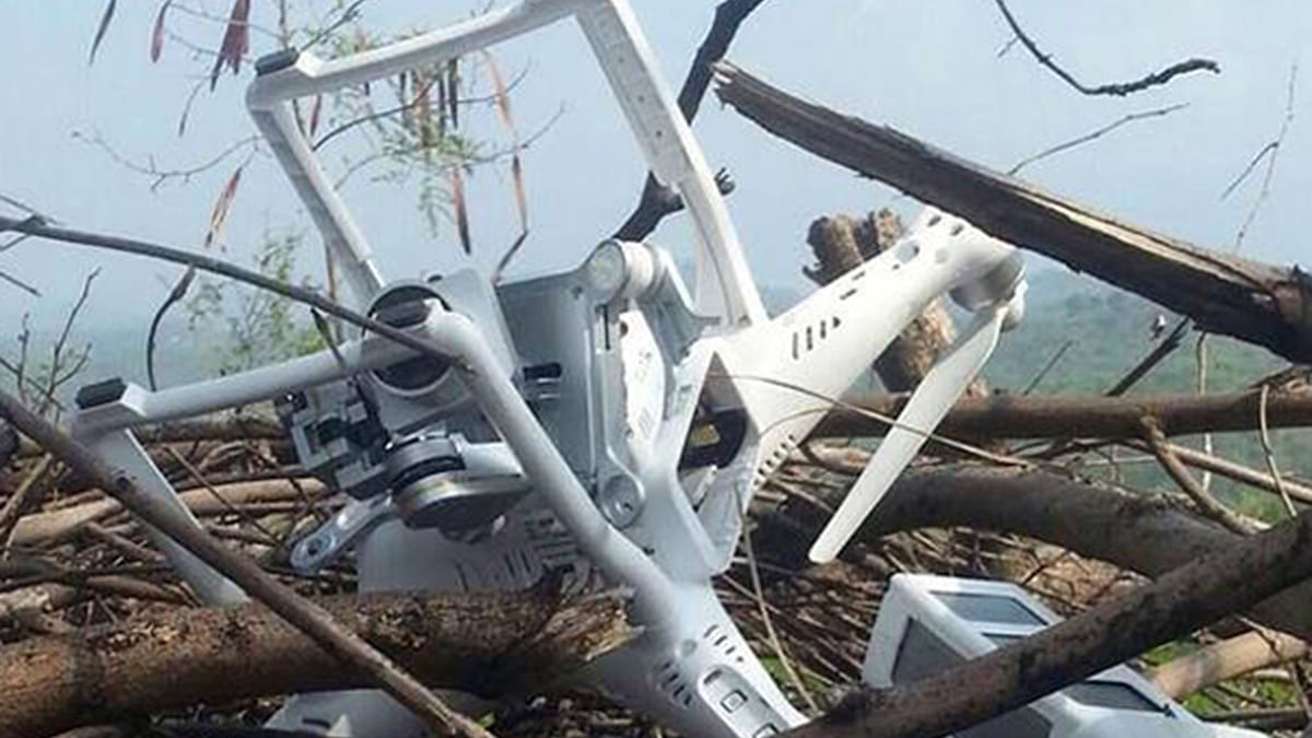 Pakistani drone shot down in Rajasthan