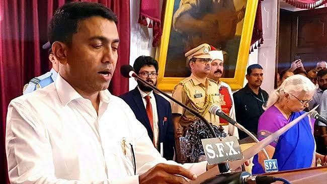 Pramod Sawant sworn in as 11th Goa CM