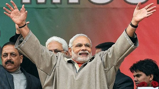 Modi government's policy on Jammu and Kashmir is not clear