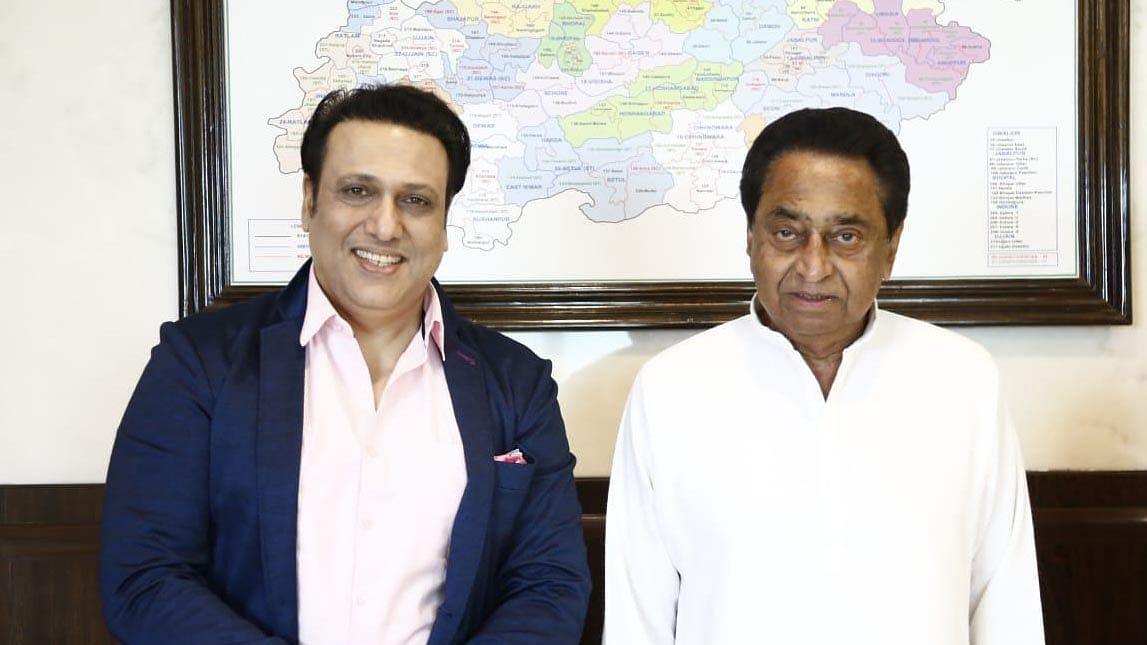 Govinda meets Kamal Nath, sparks speculation