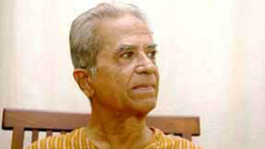 Gandhian painter Haku Shah