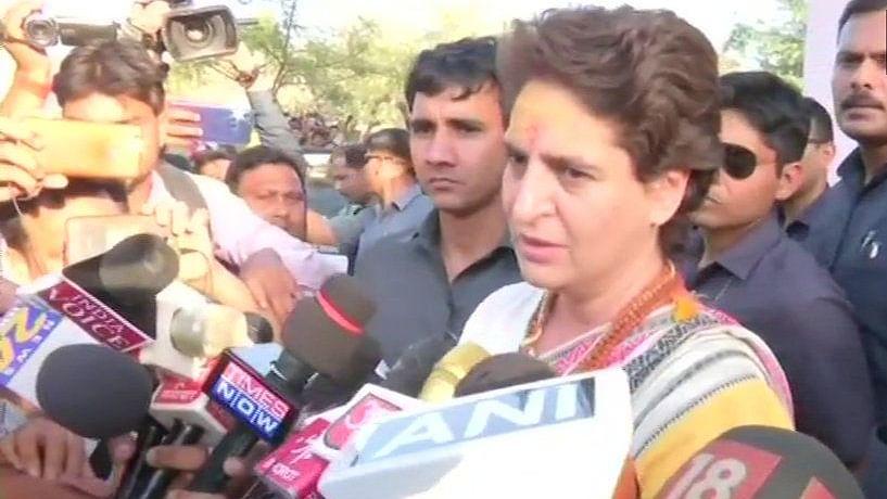 Who let Nirav Modi escape, Priyanka Gandhi asks BJP?