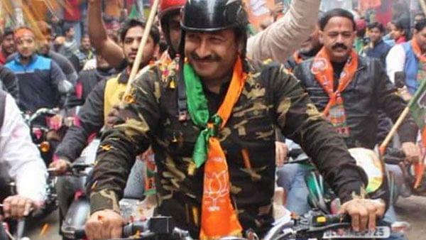 Will Manoj Tiwari face jail  for violating Sec 171 of IPC by wearing military jacket at Sankalp bike rally?