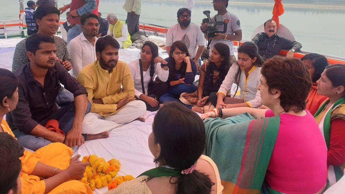 """PM Modi's regime is suppressing people"" says Priyanka Gandhi"