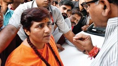 Opposition grows in Bhopal to BJP's terror accused candidate Pragya Singh