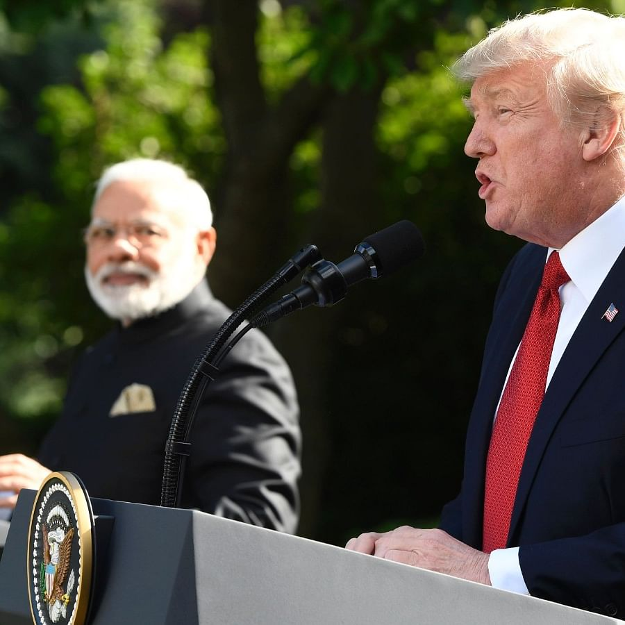 Prime Minister Narendra Modi and US President Donald Trump (social media)