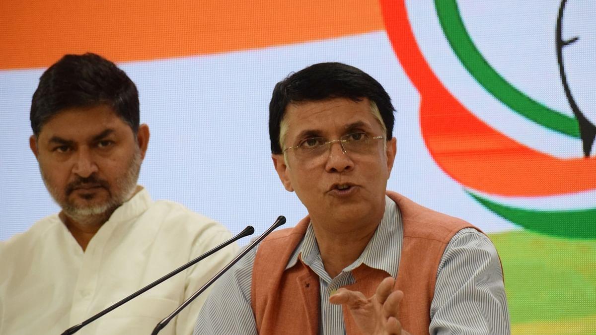 Congress spokesperson Pawan Khera (IANS Photo)
