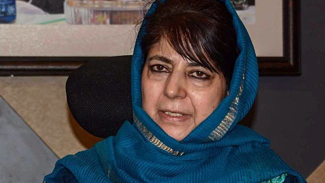 Peoples Democratic Party (PDP) chief Mehbooba Mufti (PTI)