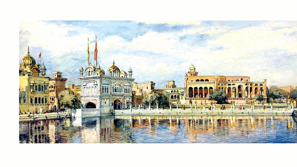 Golden Temple by William Carpenter