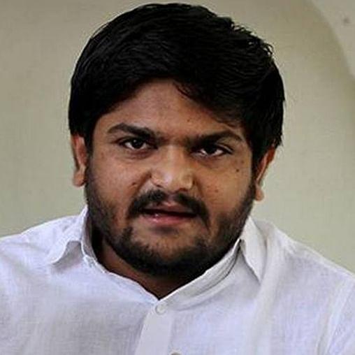 Patidar leader Hardik Patel (PTI)