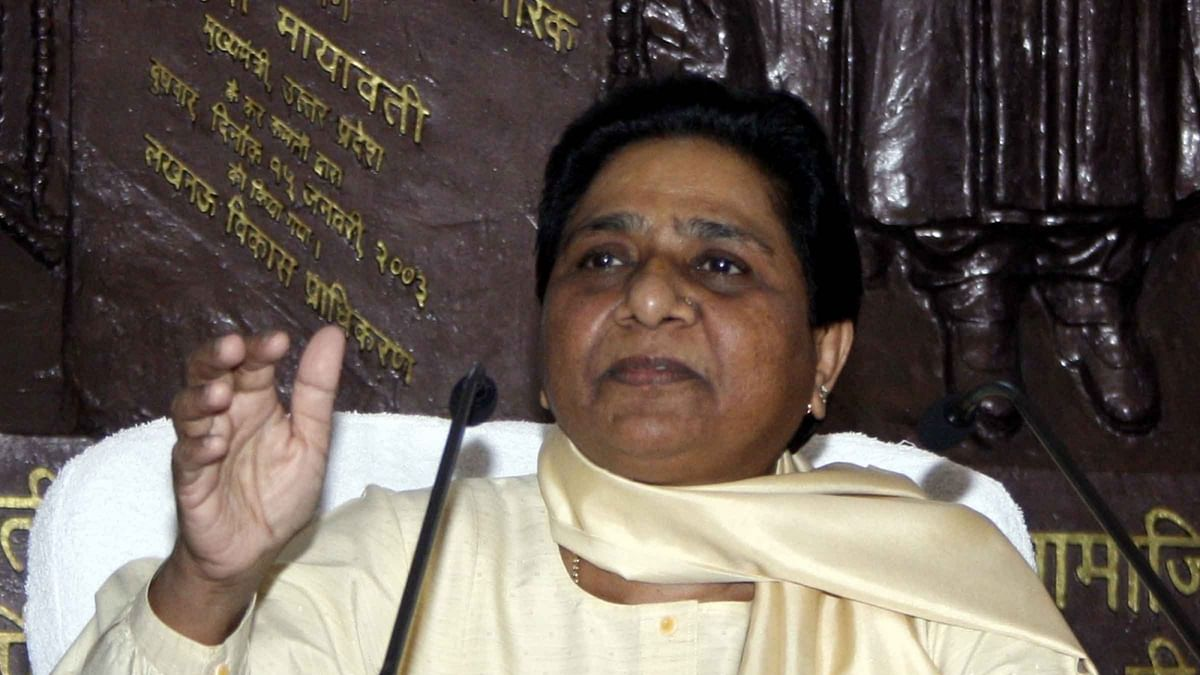 Mayawati a 'live wire', Anyone who touches her will die, says UP Minister