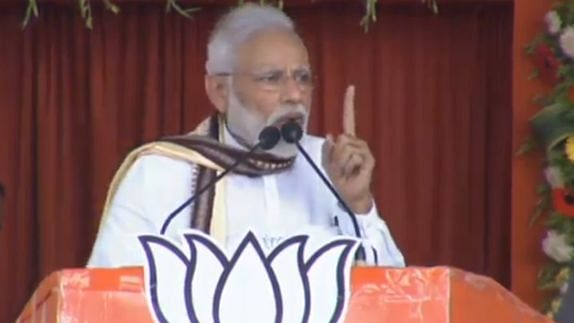 PM Modi accuses Rahul Gandhi of slapping a journalist! Did he lie again?