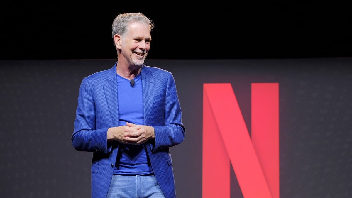 Netflix CEO Reed Hastings (IANS Photo)